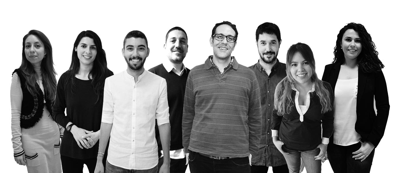Equipo de marketing online